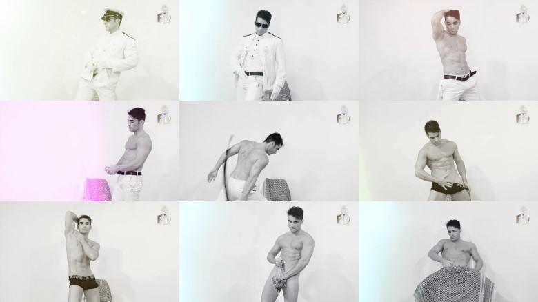 Beautiful male stripper video