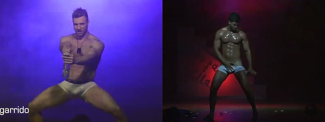 male strippers of solo para ellas