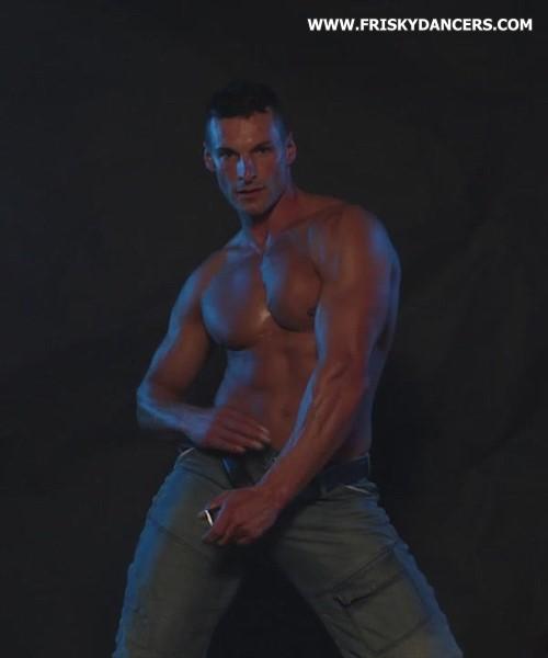 Spanish male stripper Crisitan