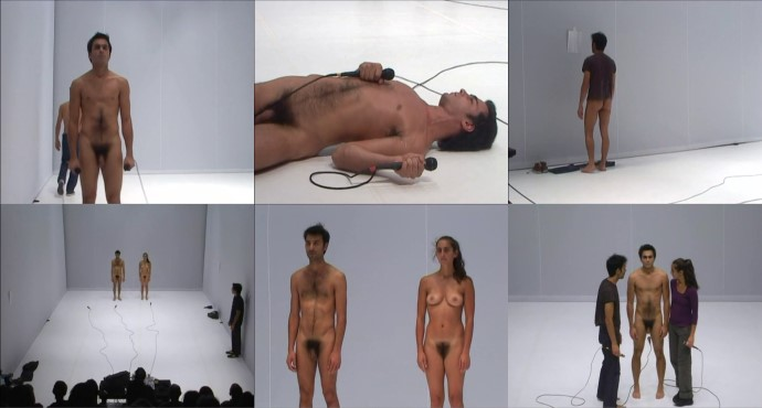 naked guys in theatre performance