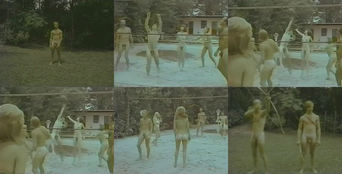 vintage male nudists