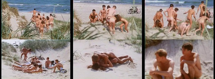 nudists at the beach movie