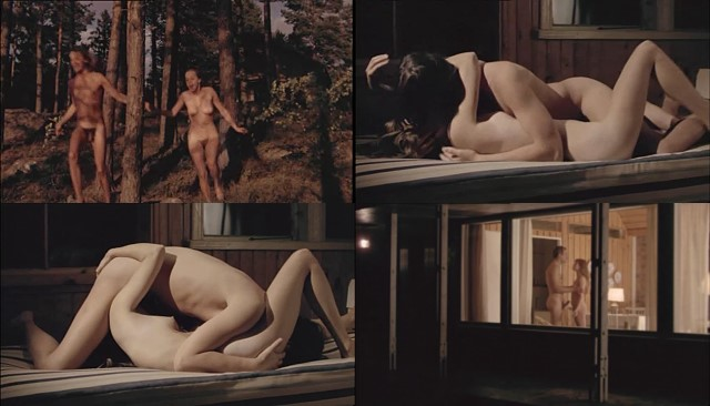 porn filming in vintage finnish movie