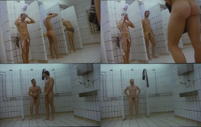 iceland guys taking shower