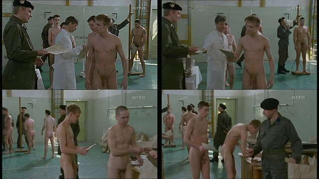 boys in the military medical examinations