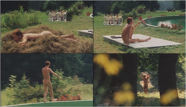 naked guy in italian movie
