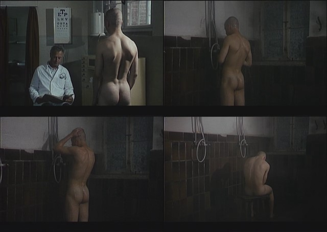 naked boy prison showers from German movie