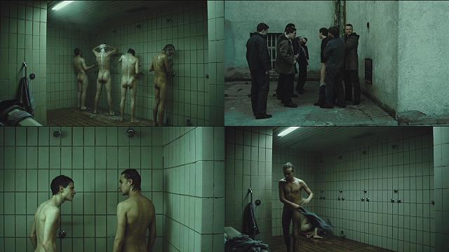 naked guys showering in prison