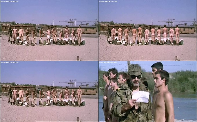 naked Romanian soldiers outdoors