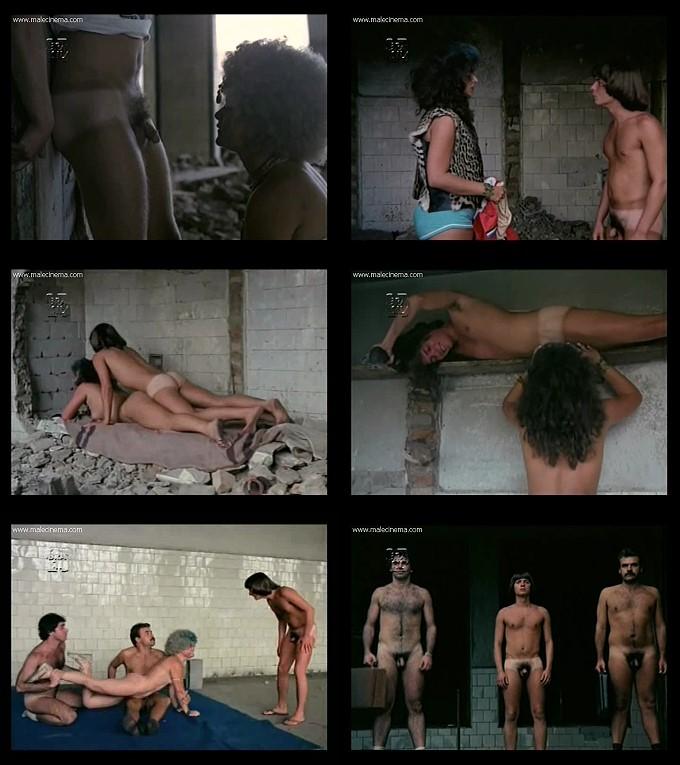 hot naked men in erotic movie from Brazil