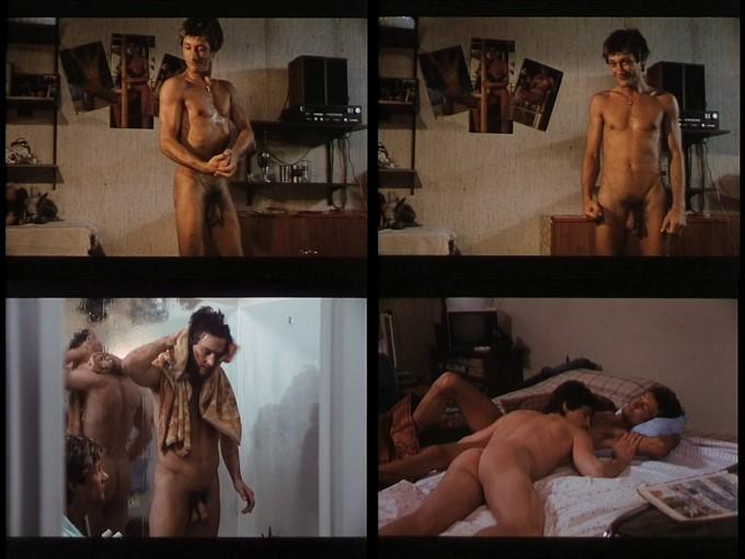 George basil frontal nude scene in crashing