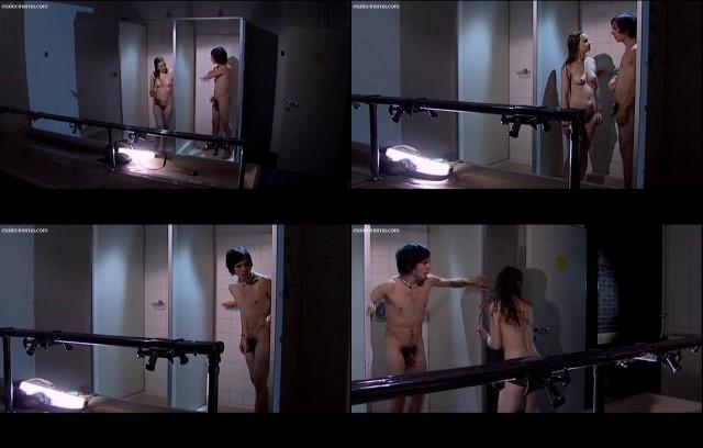 austrian boy showering naked