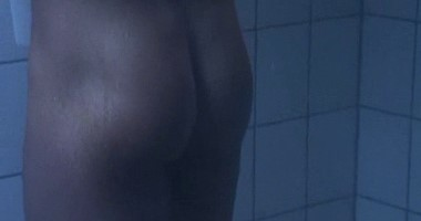Muscle boys showering naked video